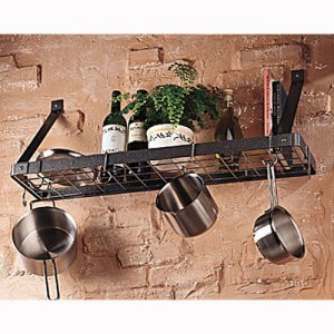 pot racks by shape